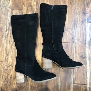 NEW Blondo Nicola Waterproof Suede Tall Boots S 8